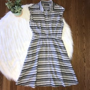 Swords Smith Collared Button Down Dress Size Small